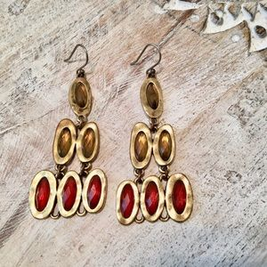 Jewelry - NORDSTROMS GOLD PLATED OVER BRASS EARRINGS